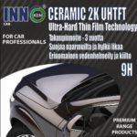 Inno ceramic 9H | Inno pro coat sio2 | diamondbrite | keraaminen kestopinnoite hinta