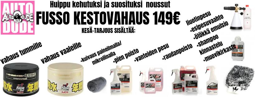 Fusso soft 99 auton vahaus jyväskylä
